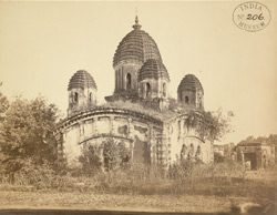 General view of the Awasghar Temple, Medinipur [Midnapur] 3425
